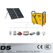 DS-500W 100AH 2012 portable solar lighting system