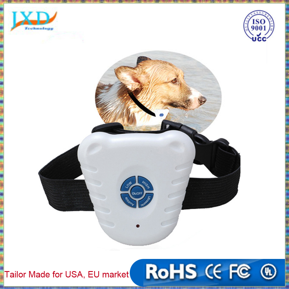 New Portable No Harm Electric 4 in 1 Remote Control Small Medium Dog Training Shock Collar Anti Bark