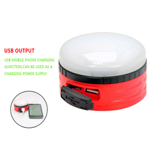 New Mini Portable Super Bright Camping Tent Lantern Fishing Light