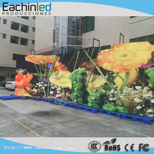 Pixel pitch 6mm SMD outdoor led screen p6 curved led video wall