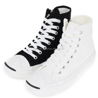 4ssd0805 lace-up hi-top canvas sneakers Made in korea