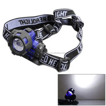 Adjustable Head Lamp Straps Flash Light Camping LED Headlamp