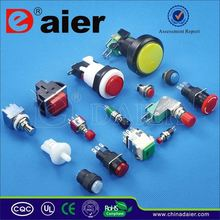 Daier 30.2mm installation depth key push button switch