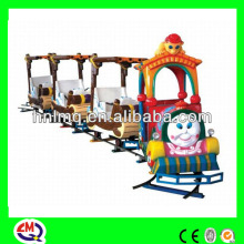 Manufacture! small amusement park trains for sale