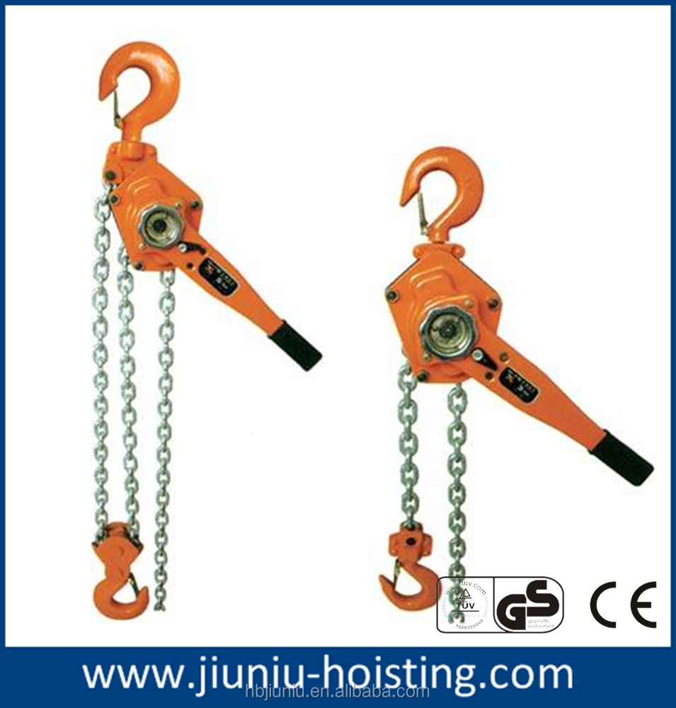 Heavy lifting lever chain block, accept customize parts of chain block