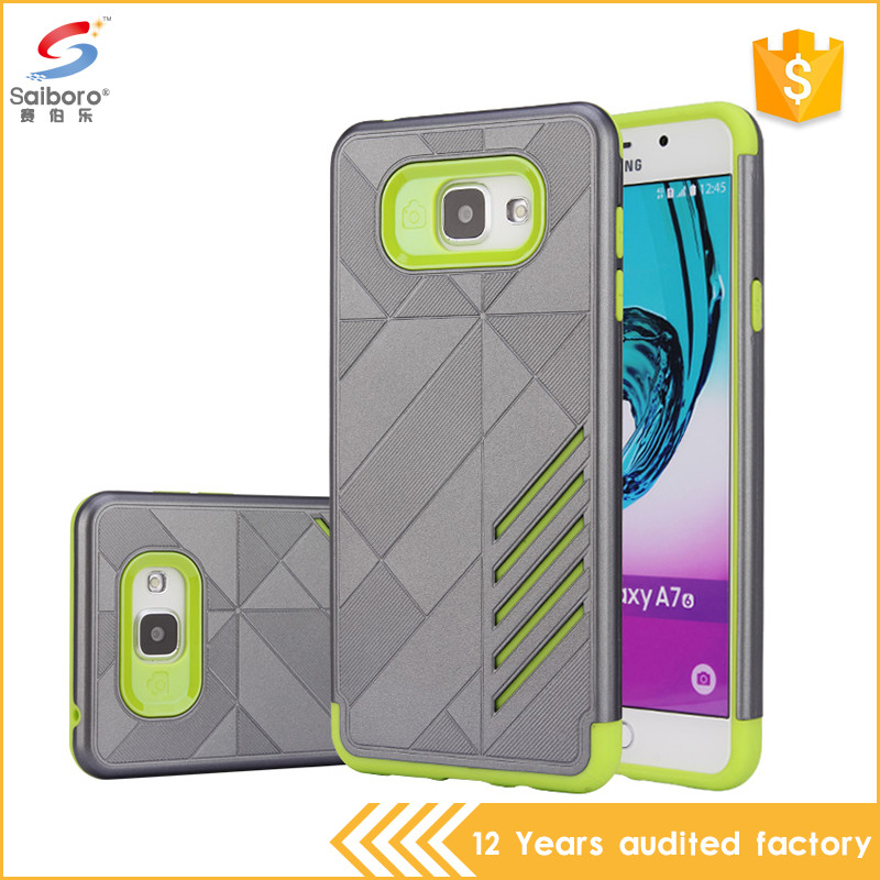 Oem welcome tpu pc cellphone cover for samsung galaxy a710