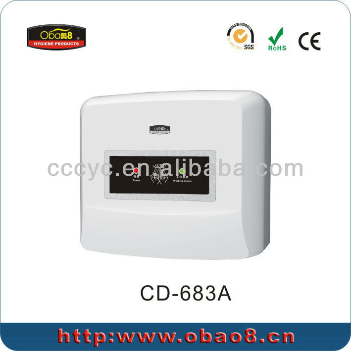 New Wall Mounted Auto Small Hand Dryer CD-683A