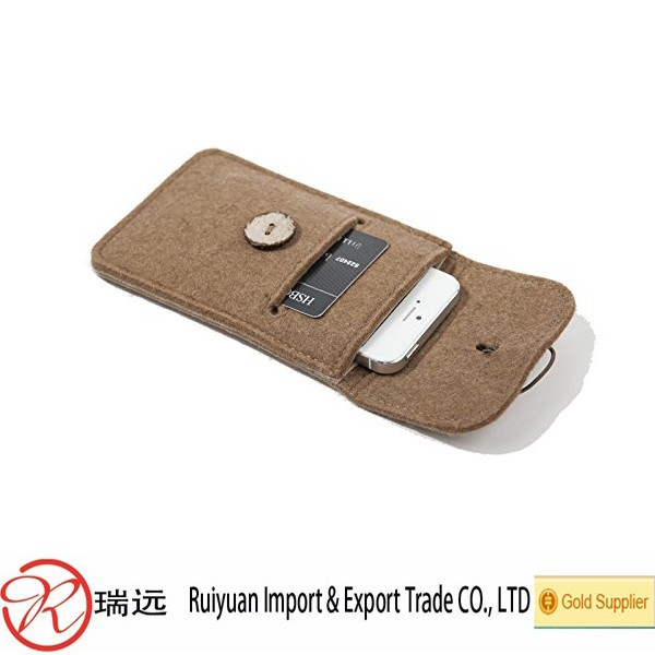 Alibaba Express Durable Concise Felt Mobile Phone Case,Cell Phone Case,Mobile Phone Cover
