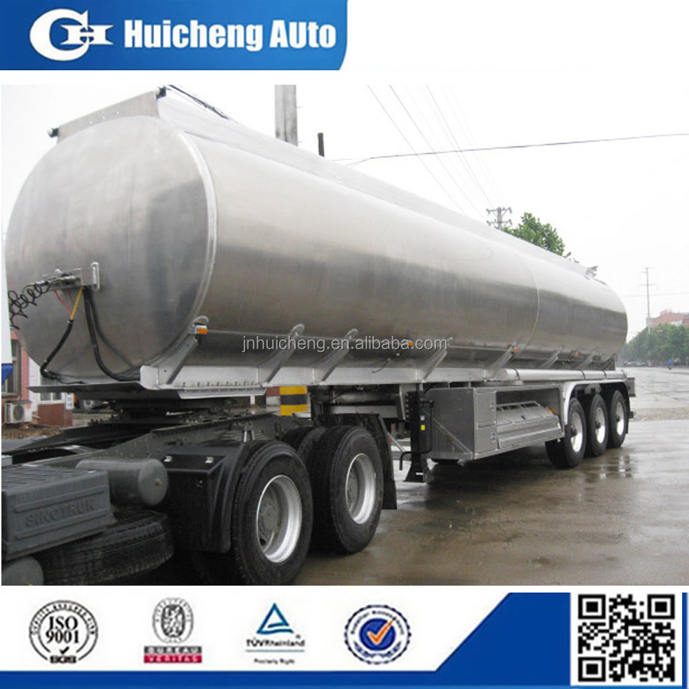 40m3 stainless steel liquid food tanker for sale