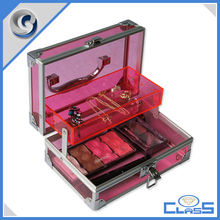MLD-CC499 Aluminum Beauty Box Makup Storage Nail case