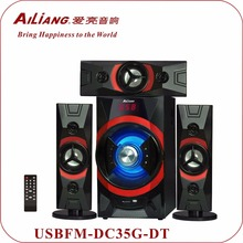 Ailiang Professional Active Speaker USBFM-DC35G/3.1 home theater Speaker