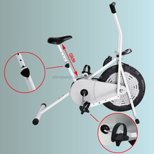 Home Gym Fitness Elliptical Flywheel Air Bike With Computer Output Display