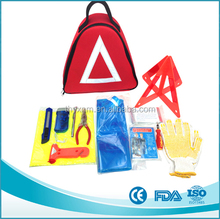 Wholesale OEM high quality auto car emergency first aid tool kit with CE,FDA,BSCI and ISO13485