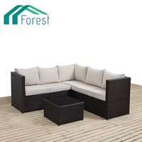 Hot Selling 5 Seater Rattan Modern Latest Design Furniture Living Room Sofa Set