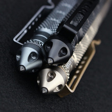 2018 aerospace tactical pen military multi-tool glass breaker self defense pen