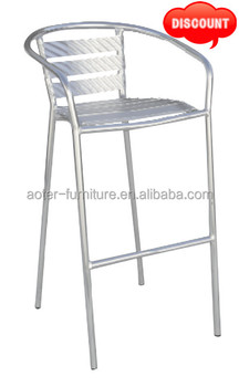 Special discount aluminum bar stool