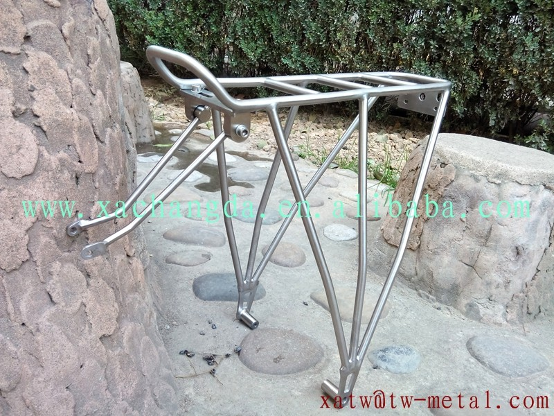 titanium mtb bike rack titanium road bike rear rack customize bicycle rack