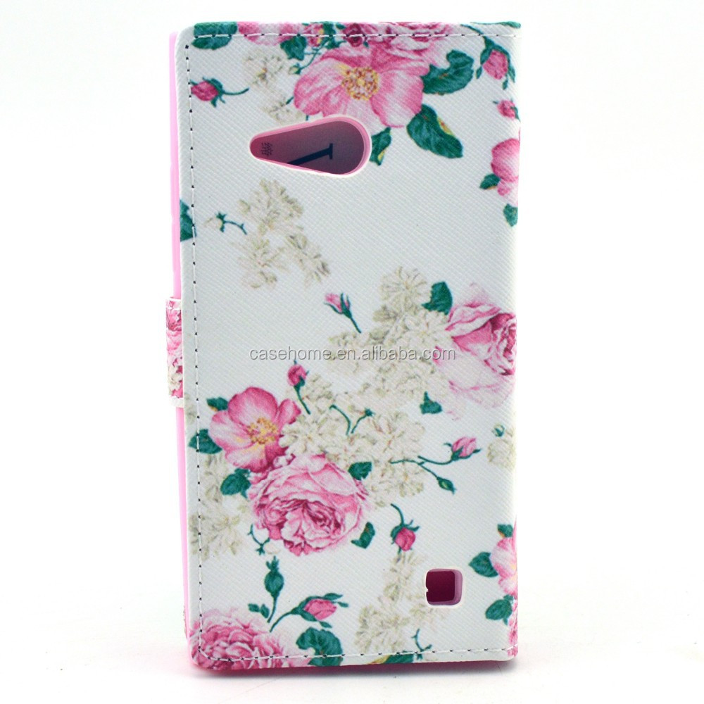 New hot alibaba factory 3D flower phone back case soft silicone cover for Nokia Lumia N730 case