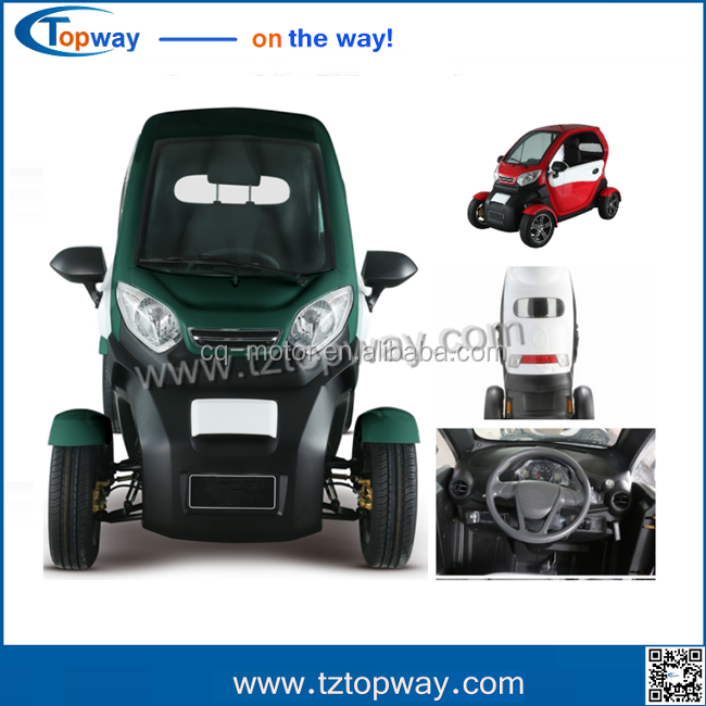 electric tricycle for passenger/closed body 72v 3000w electric rickshaw/vehicle