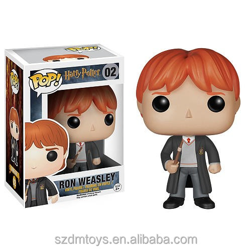 Famous movie character Funko POP Harry Potter-Ron Weasley action figure