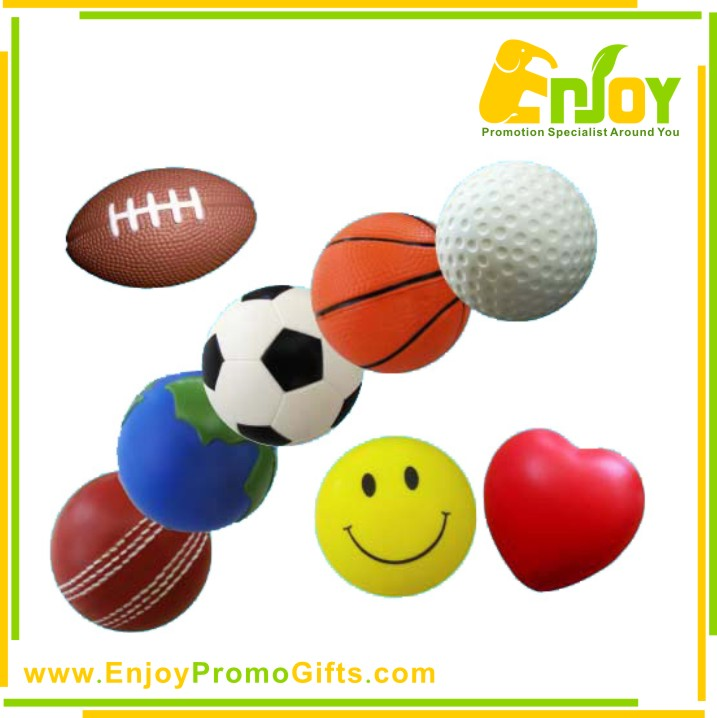 Promotional Logo Printed Top Quality PU Stress Ball