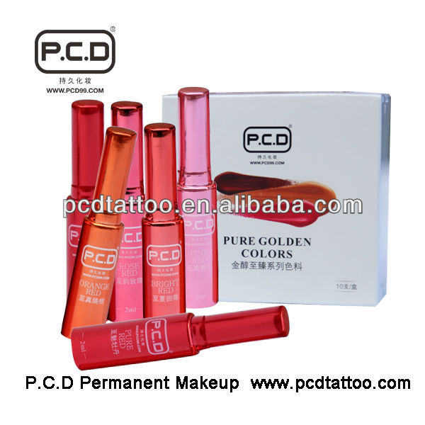 PCD High Quality Permanent Makeup Lip Tattoo Inks