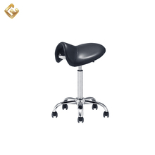 Beauty portable hair salon products master chair saddle stool