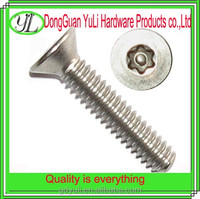 stainless steel or Galvanized torx m8 bolt