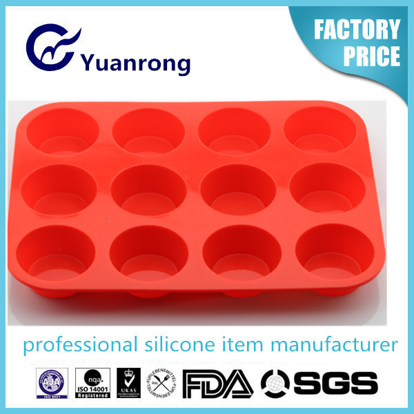 Silicone Non-stick Eco-friendly Cake Pan Hight Quality LFGB Standard