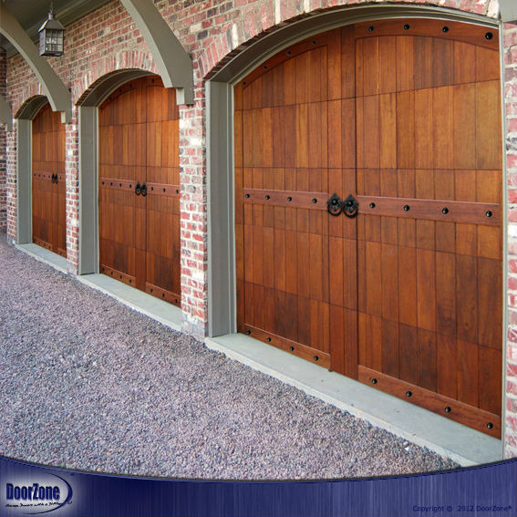 Vertical Barn Style Timber Garage Doors