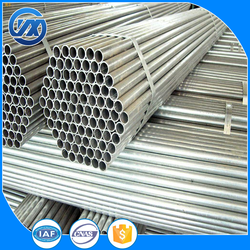 Hot Product Q235 building materials galvanized steel pipe red hot tube