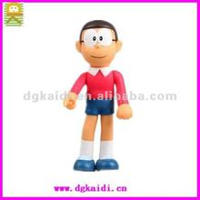 Hot sale new design cartoon model customized 3d plastic pvc anime action figure toy