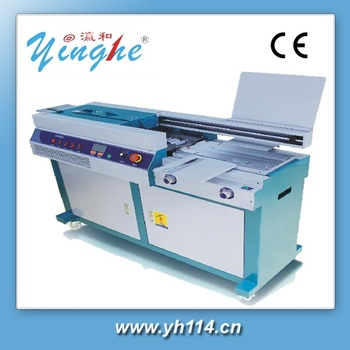 Guangzhou automatic machine manufacture plastic coil binding machine for book
