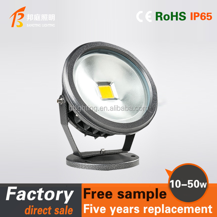 IP67 Waterproof 10w20W 30w COB led lawn light 12v 24V 220v led outdoor garden spike light