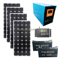 4000W Solar power system 4000W sloar panels for home can be customized