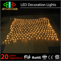 holiday time christmas decorations led ceiling net light outdoor party lights