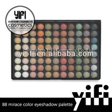 Wholesale 88 Color Eyeshadow Palette 88MI spray flower color