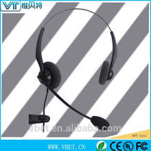 telemarketing products} with cardioid 3.5mm wired headset
