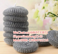 new products stainless steel wire cleaning ball/copper wire scourer from china