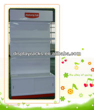 floor standing spray paint electronic appliance display for appliance store