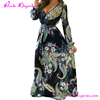 Off Big Discount Flower Printed Woman Long Maxi African Kitenge Dress Designs