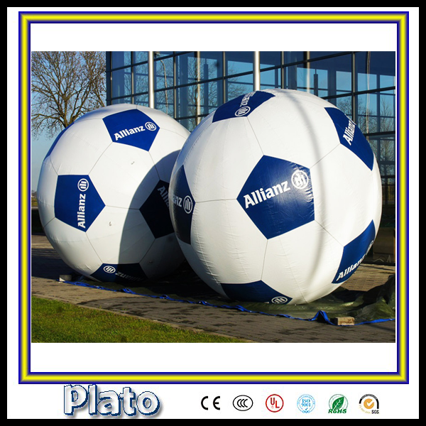 Customized advertising giant inflatable football/inflatable model for sale