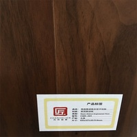 Indoor Fire Resistant Laminate Walnut American Flooring