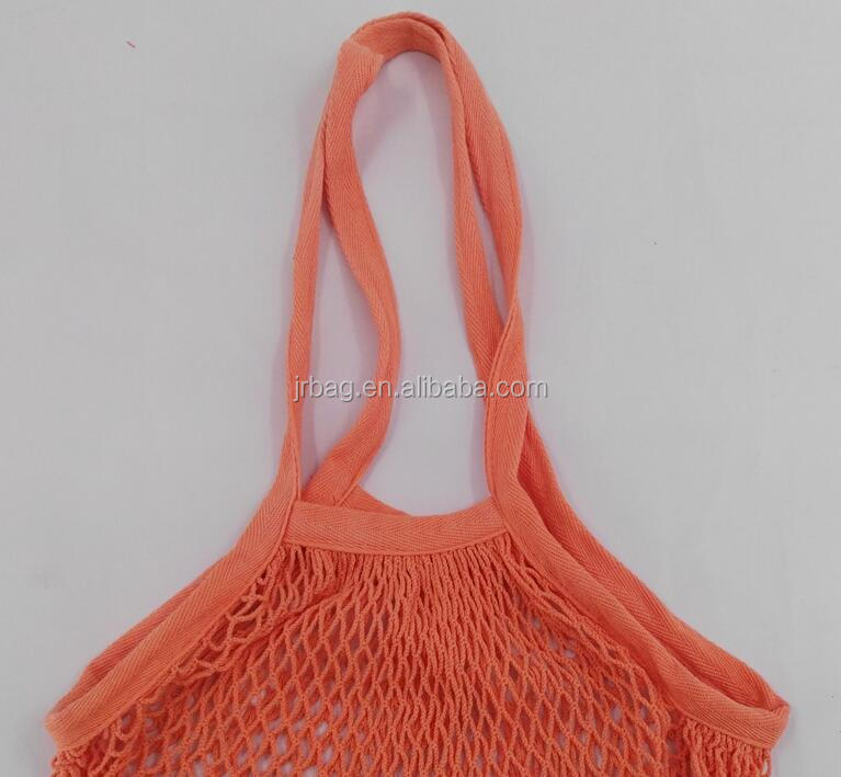 wholesale Eco-fiendly traveling picnic cotton tote mesh bag