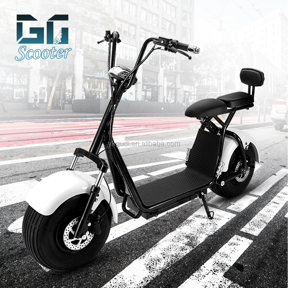 GUDI free shipping hot halley scooter 85KM with CE electric scooter <strong>city</strong> coco