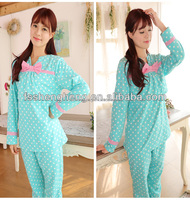 eco friendly comfortable black sexy women in pajamas AK089