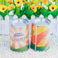 Customized Design Printing Round Tin Can For Food Dyr Fruit Tin Can