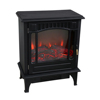 Flame effect heater electric fireplace with freestanding