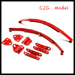 2014china newest Leaf Spring w /Mounting Kit for 110 Type D90 Off-Road Scale Crawler red