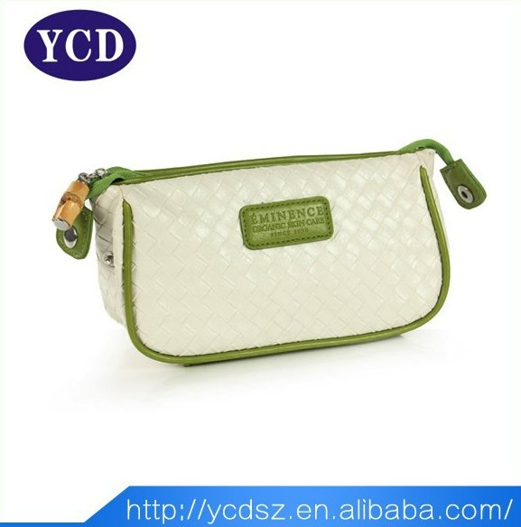 2015 Alibaba Italian Professional Cosmetics Brands Women Handmade Leather Bag